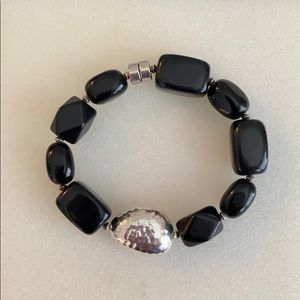 Silpada silver beaded bracelet